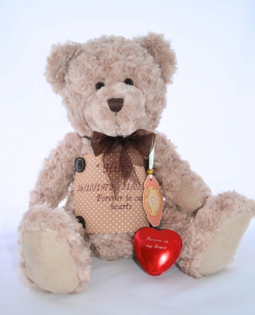 Teddy Bear Urn - Brown