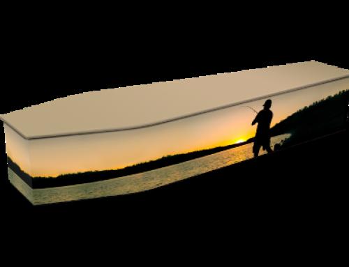 Sunset Finishing Expression Coffin